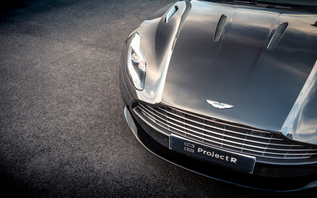 007 Spec Aston Martin arrives at Project-R