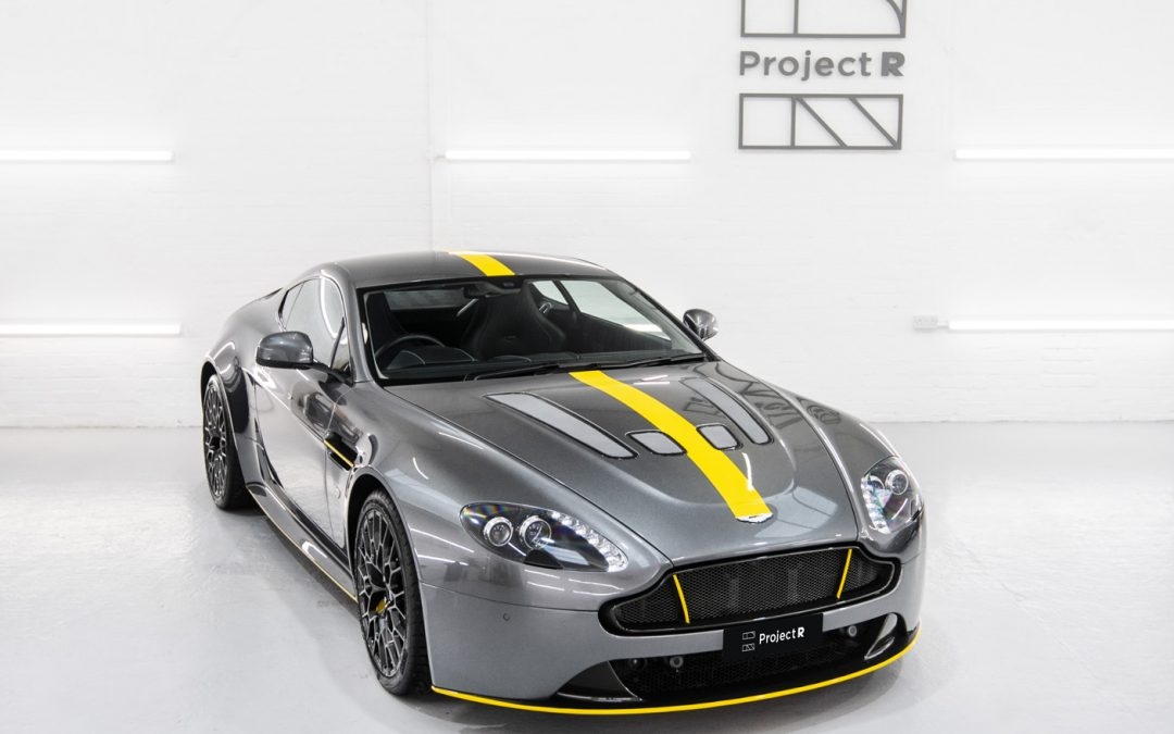 Full PPF & a Project-R makeover for this Aston Martin V12 Vantage
